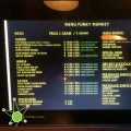The menu you can find at Funky Munkeys in Amstedam
