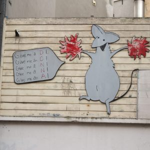 Donna the Mouse, an impression of the streets of Amsterdam.