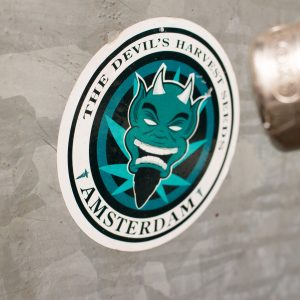 Those stickers can be found all over Amsterdam so sharpen your eyes when walking around in the city.