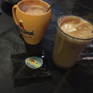 Ibiza Coffee, Hot Chocolate and something sweet.