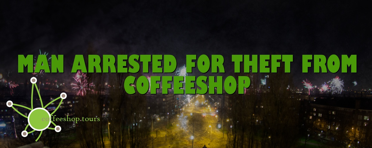Man arrested for theft from coffeeshop